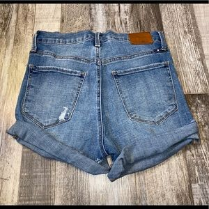 Lucky brand blue jean shorts